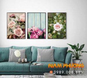 tranh canvas hoa hu1ed3ng