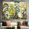 Tranh tứ quý cây và hoa 07TTQ