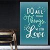 Do all things with love 156TDL